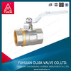 full port brass ball valve for CE approveddn long stem ball valve