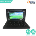 """360 degree rotation ability/Silicon Case/Detachable Wireless Bluetooth Keyboard with standing case for 7"""", 8"""" tablet pc"""