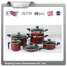 12PCS ALU nonstick wholesale enamel cookware set