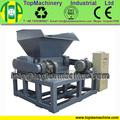 new designed high capacityDouble shaft shredder for agriculture sheet for shredding machine plastic film woven bags