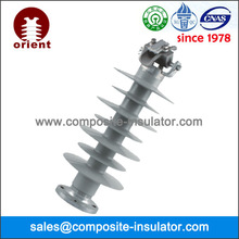 33KV 10KN composite polymer line post insulator with clamp