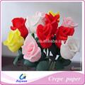 Embalagem flores de papel crepe / decorativa festival de papel crepe ( de boa qualidade e venda direta da fábrica )