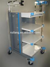Caster Used Hospital Crash Cart Medical Trolley