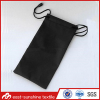 High quality microfiber Sunglass Soft Drawstring Pouch,Wholesale Microfiber Sunglasses Bag with Drawstring