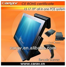 Good 15 inch pos all in one touch screen pc for dealer