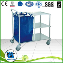 BDT209 Durable stainless steel Trolley Linen Laundry