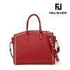 new hand bag women 2014 PU material lady hand bag leather women hand bag tote bag