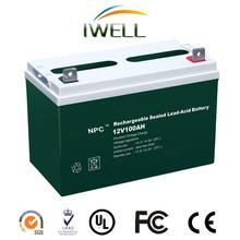 IWELL NPC Series 12v 100AH AGM Long Life VRLA Battery