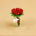 Casa de muñecas en miniatura 1:12scale artificiales flores arcilla arcilla japonesa de flores