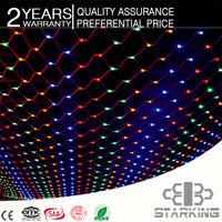 2014 best Colorfu Cross LED Christmas 110V IP65 colorful illumination string light