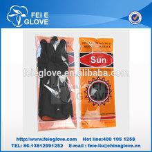 50-120g Black outside and orange inside latex industrial gloves China manufacturer