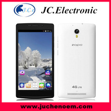 2014 NEW ZOPO ZP520 5.5inch IPS 960*540 MTK6582M 4G LTE phone Android 4. 4 Single SIM Card 1GB RAM 8GB ROM Smart mobile phone