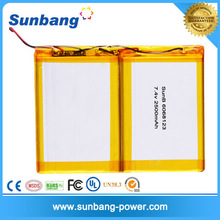 shenzhen deep cycle rechargeable lithium 6v 2.5ah battery