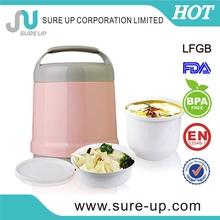 Elegant 2014 wholesale foodgrade transparent lunch box(CGUB)
