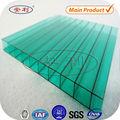 anli de cristal de plástico de policarbonato de la agricultura de la casa verde
