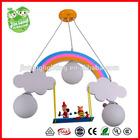 white cloud children chandelier lamp,3 light Bilrost children chandelier light