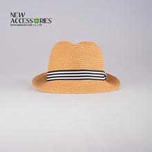 children's paper straw sun cap