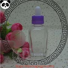high quality PG/VG bottle eliquid 30ml eliquid square glass bottle mass stock