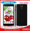 mtk6572 dual core mobile phone dual camera android smartphone dual sim card cell phone Jiake V5