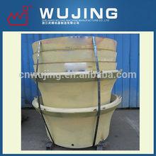 Wujing High Manganese Steel Casting Wujing Cone Crusher Liner