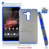 2014 novelty mobile phone accessories Korea fashion design PC silicone combo case for SonyXperia SP LTE C5303 C5306 HSPA C5302