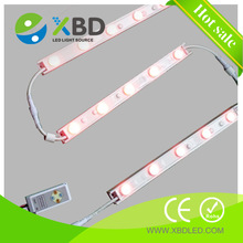waterproof single and double side illumination 24V Osram or Epistar SMD RGB LED strip edge lighting