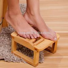 Unique wooden sit fancy stool