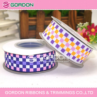 2014 hot sale Hip Girl Boutique Printed Grosgrain Ribbon Value Pack. Patterns are printed on one side of grosgrain ribbon