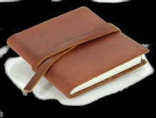 2014 Top quality factory price custom leather pocket notebook