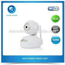 Sharevison New HD 720P Megapixel Wireless Indoor Pan Tilt IP Camera