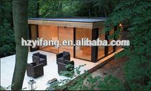 Flat Pack 20ft glass modular homes