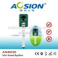 Aosion ultrasons Repeller animaux / solaire ultrasons oiseaux répulsif