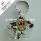 2014 Personalized Promotion gift fashion keychain acrylic