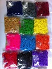 wholesale tie dye loom rubber band with multiple colors