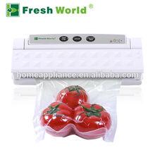 Fresh World TVS2013 household plastic bag vacuum sealer keep food fresh
