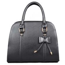 BV8022 hefei zhijing big sweet bowknot fashion women bag PU handbag manufacturer newest styles