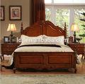 Campagna americana letto matrimoniale in rovere massello di legno mobili per la casa camera da letto 1,8 metri letto in vero legno letto principessa letto coniugale letto