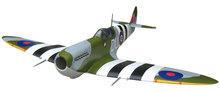 RC model plane gasoline wood airplane warbird spitfire 55CC