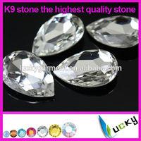 Wholesale highest quality crystal fancy K9 stone imitation of swarov for rhinestones jewelry making supplies