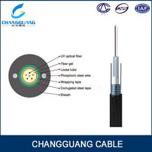 Multi cores Central tube GYXTW fiber optic cable price list
