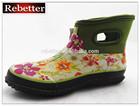 Waterproof neoprene boots for women