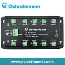 Colordreamer Super 8 Ways DMX LED Splitter DMX Booster Light Control System