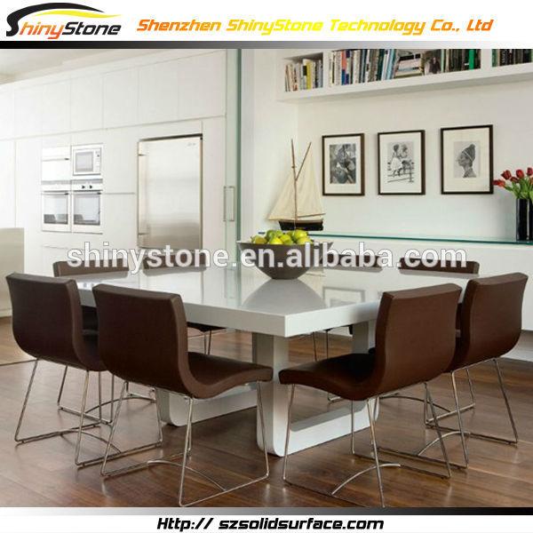 Square Table Top Designs Square Designer White Table