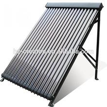 copper heat pipe pressured 18tube solar collector