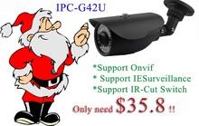 "Christmas Onvif 1/2.5"" Sony 5 Megapixel CMOS Image sensor convert cctv 3 megapixel, IR range:40M IP66 3 megapixel ip camera"