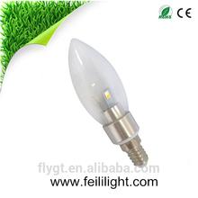 Made in china 3w e14 e27 led candle light