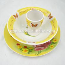 Ceramic children's dinnerware,kids ceramic dinnerware