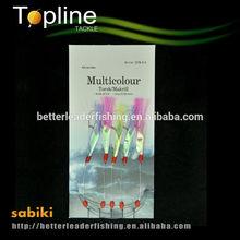 fly fishing sabiki feathers / fishing lures wholesale