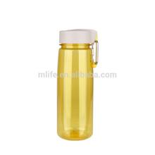 portable carabiner 800ml tritan plastic water bottle