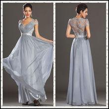 CL351 Zuhair Murad Cap-Sleeve Lace Evening Dresses China